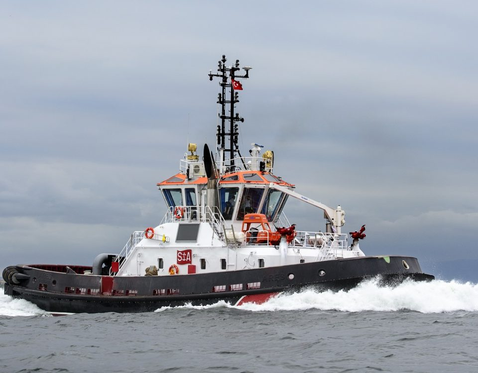 Sanmar Shipyards Relies On Voith Schneider Propeller For New Vectra 3000 Series Tugs Towingline